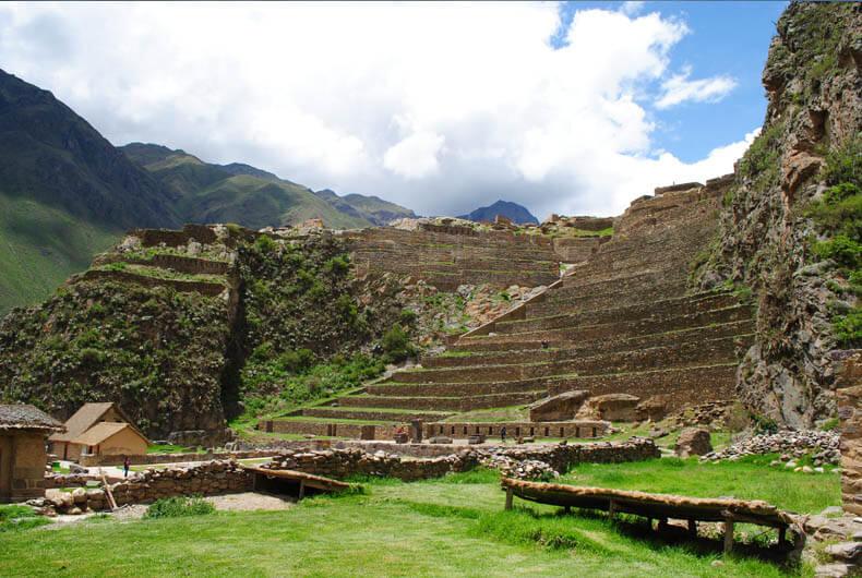 Ruin at Ollantaytambo