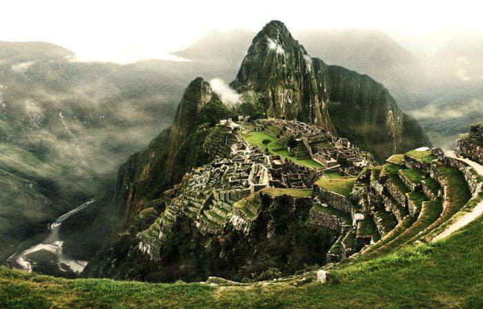 Machu Picchu Dramatic Shot