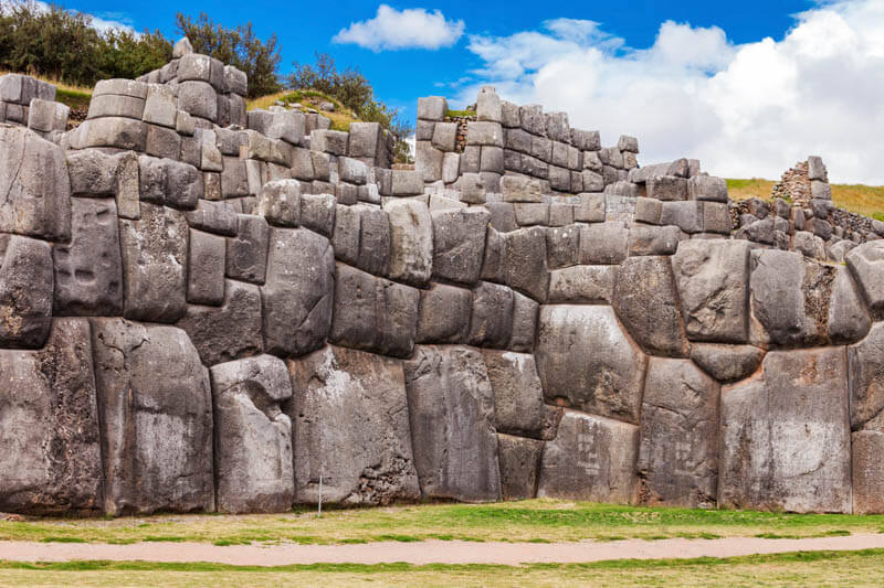 Saksaywaman is the historic capital of the Inca Empire in Cusco, Peru.