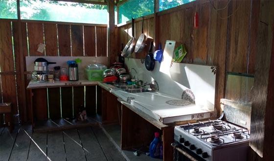 Gaia Tree Center Kitchen