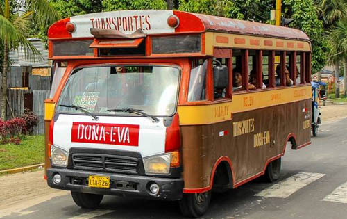 bus - The Ultimate Guide to Iquitos for Ayahuasca Travellers