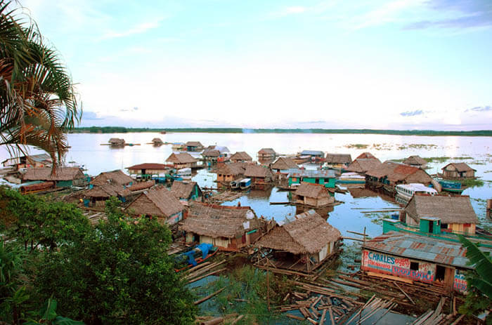 Iquitos Floating Houses